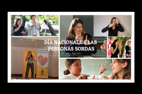 Día nacional de las personas sordas en Colegio Salesiano de Iquique