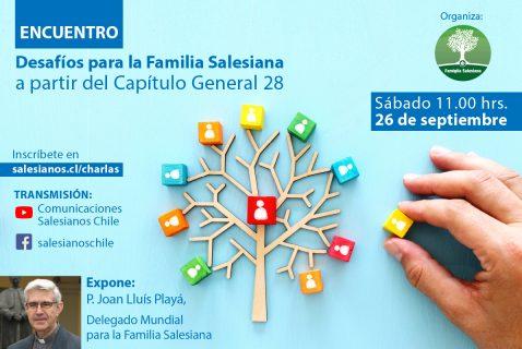 Encuentro digital con Delegado Mundial para la Familia Salesiana