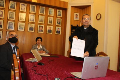 Salesianos La Serena firma convenio con Instituto Profesional Santo Tomás
