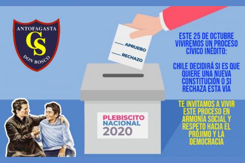 """""""Semana de la Formación Ciudadana"""" en colegio Don Bosco Antofagasta"""
