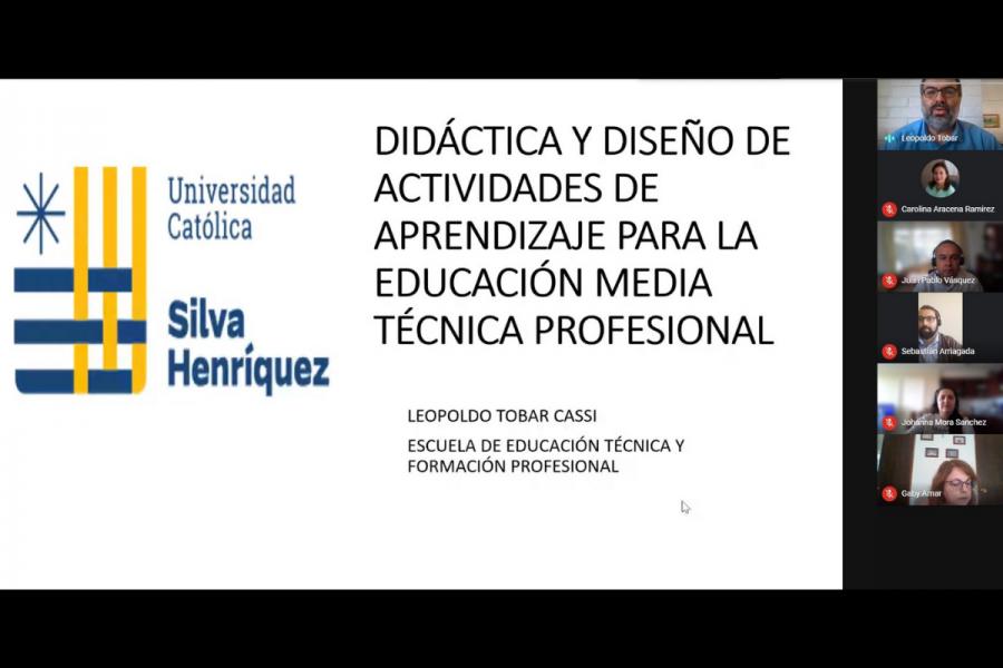 Inicia programa formativo técnico profesional para docentes de colegios salesianos