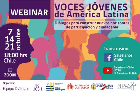 Webinar Voces Jóvenes de América Latina: participación y ciudadanía