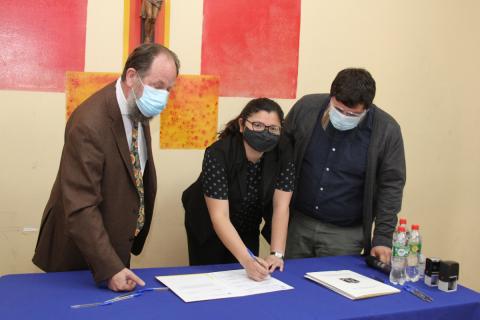 Escuela agrícola de Catemu y entidades de educación superior inauguran primer Centro Regional de Formación Agroecológica