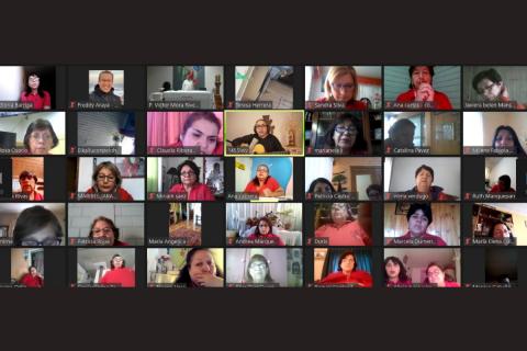 """Encuentro Nacional online EME Salesiano: """"juntas mejoraremos el mundo"""""""