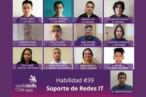Estudiante de Salesianos Alameda gana medalla de oro en WorldSkills Chile 2020