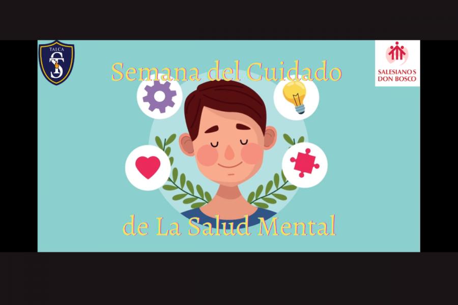Semana Cuidado Salud Mental en Centro Educativo Salesianos Talca
