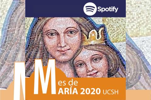 """Nuevo podcast """"Mes de María 2020"""" en Spotify"""