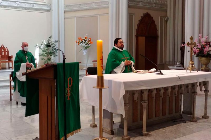 Reapertura del Santuario Nacional María Auxiliadora con misas presenciales