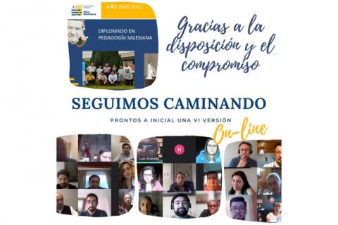 VI versión online del Diplomado en Pedagogía Salesiana