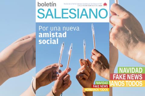 Una nueva amistad social en la edición 210 del Boletín Salesiano