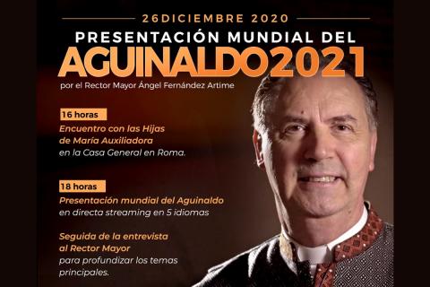 Primera proyección mundial del Aguinaldo del Rector Mayor 2021