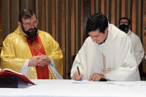 Toma de posesión nuevo director presencia salesiana Concepción