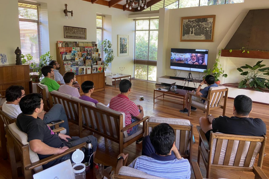 Encuentro casas de formación: Ser acompañados para acompañar