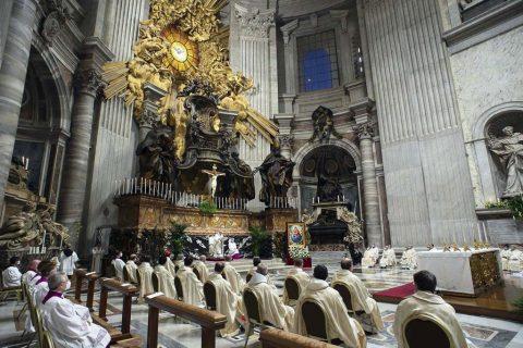 El Papa Francisco celebra la XXV Jornada Mundial de la Vida Consagrada