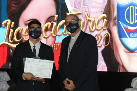 Licenciatura cuartos medios 2020 Colegio Don Bosco Iquique