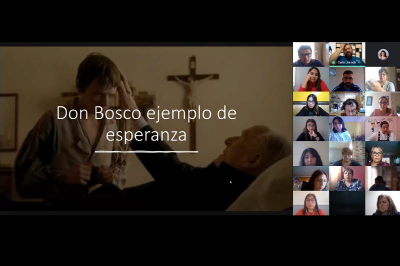 Visita Inspectorial online Liceo Salesiano Monseñor Fagnano Puerto Natales