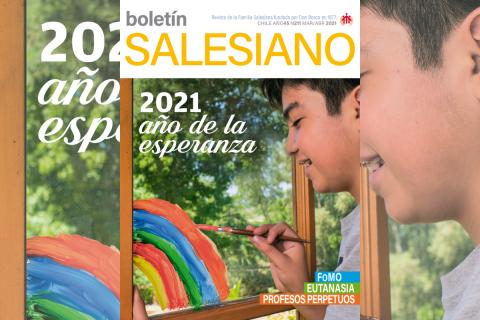 La esperanza como motor de nuestra vida en la nueva edición del Boletín Salesiano