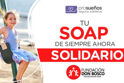 Fundación Don Bosco invita a ser solidario y seguro