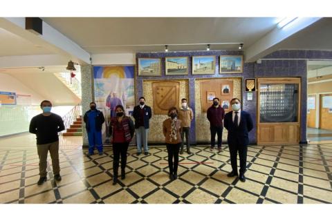 Liceo San José implementa mayores medidas sanitarias para retorno a presencialidad