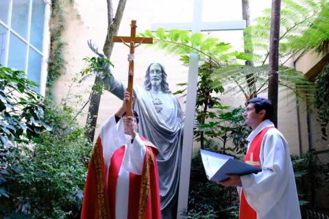 Semana Santa en Colegio Salesiano de Concepción