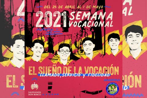 """Semana vocacional 2021: """"El sueño de la vocación"""""""