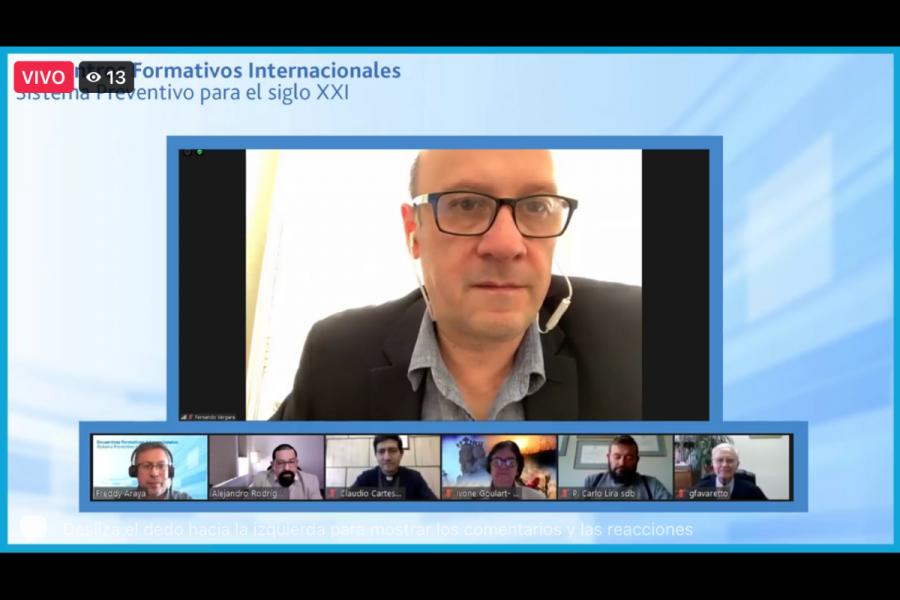Encuentros Formativos Internacionales: educación salesiana en clave preventiva