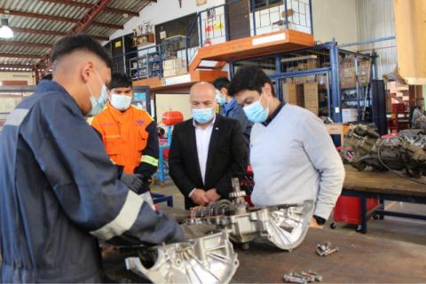 Colegio Salesiano de La Serena se adjudica fondo para mejorar especialidades técnicas
