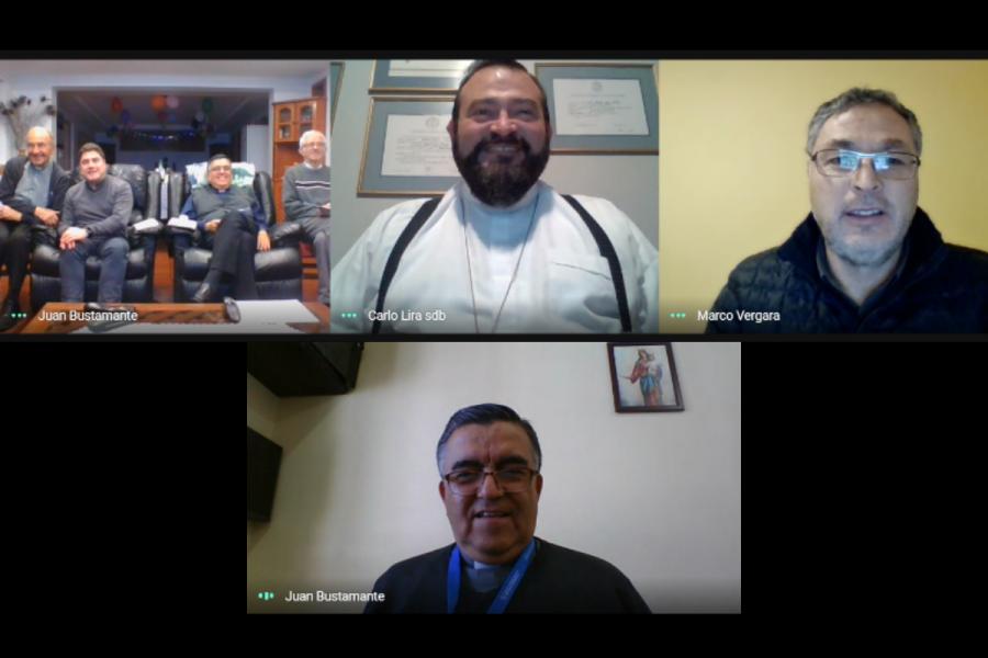 Visita inspectorial online a Colegio Don Bosco Antofagasta