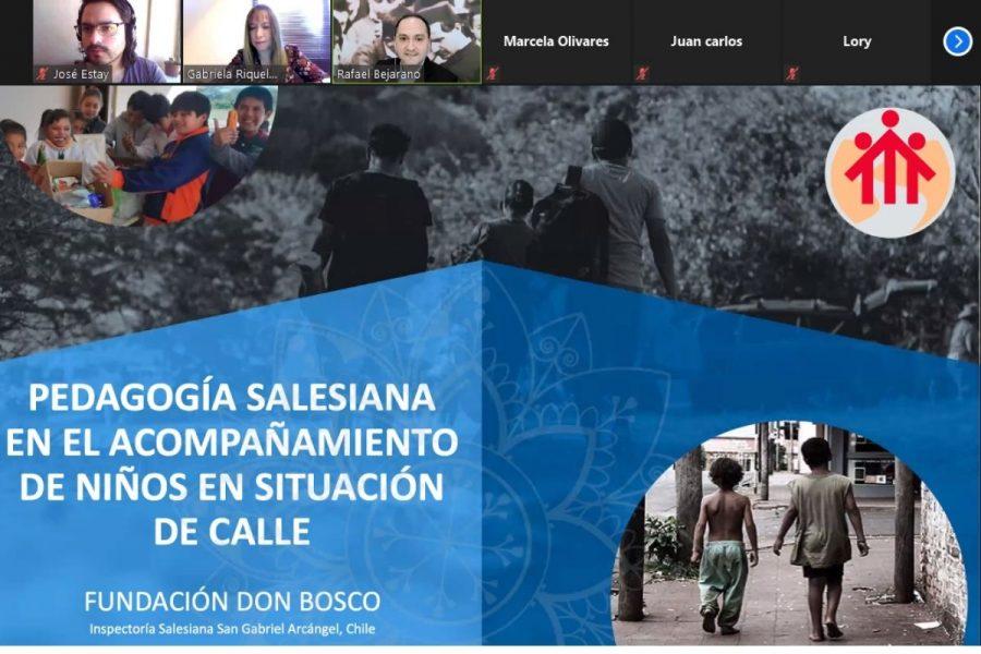 Obras salesianas comparten experiencias sobre atención de niños sin hogar