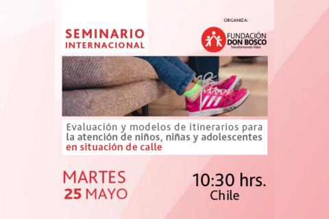 Seminario Internacional sobre atención de niños, niñas y adolescentes en situación de calle