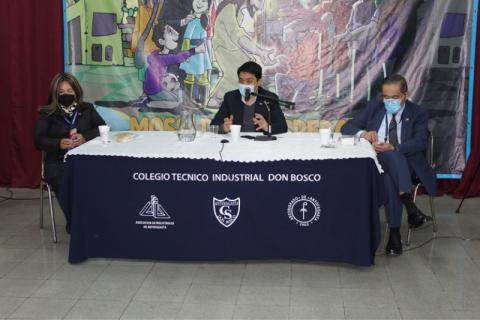 Subsecretario de Educación visita colegio Don Bosco Antofagasta
