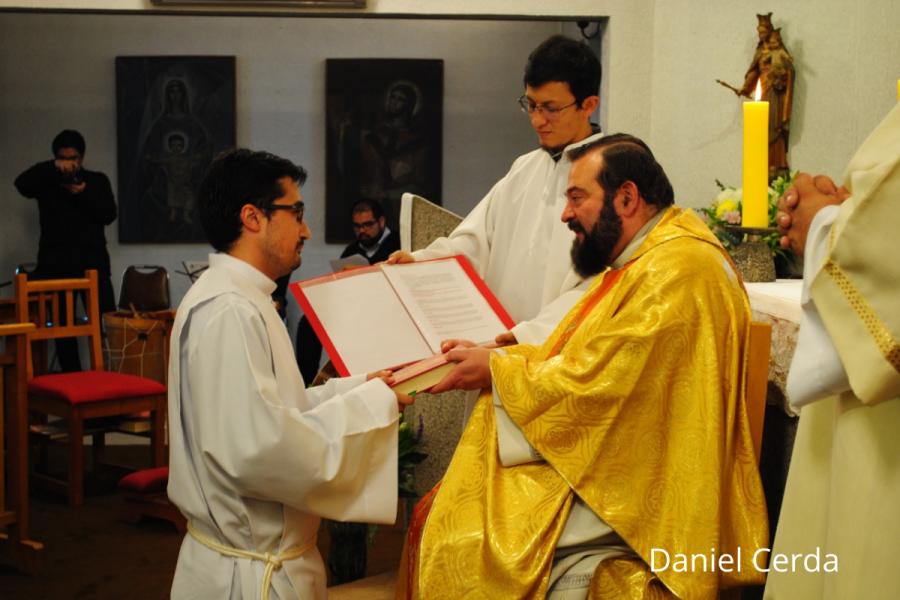Cuatro jóvenes salesianos reciben el ministerio del lectorado