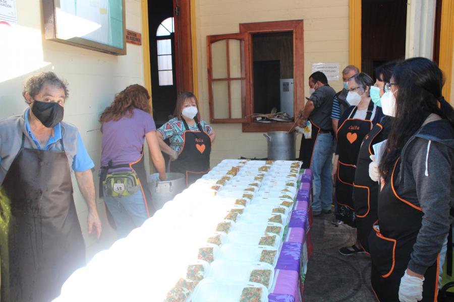 Comedor solidario salesiano brinda apoyo en pandemia