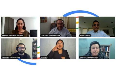 Salesianos Chile presentado como caso de éxito en transformación digital educativa