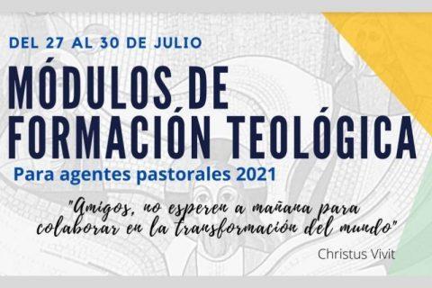 Inscríbete en módulos de formación teológica para agentes pastorales