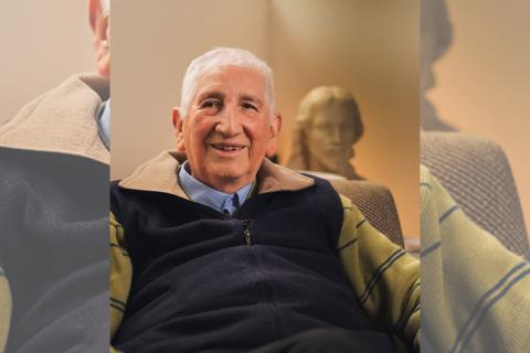"""Padre José Lino Yáñez: """"Prácticamente nací salesiano"""""""