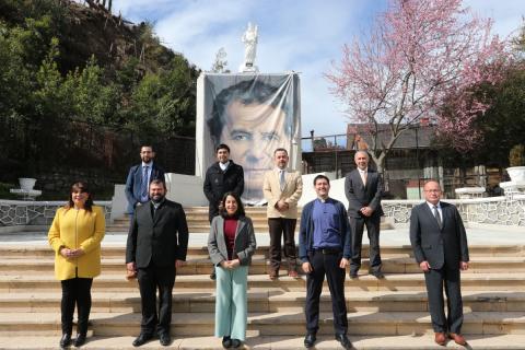 P. Carlo Lira visita presencia salesiana de Concepción