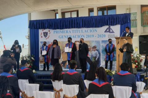 Titulación primera generación colegio Don Bosco Calama