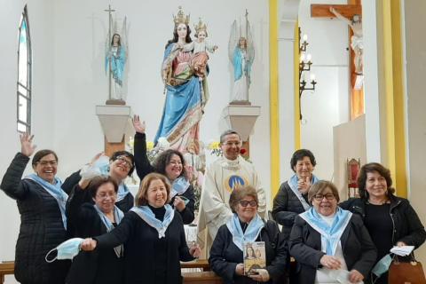 ADMA Chile: gracias Madre por abrir el camino del reencuentro