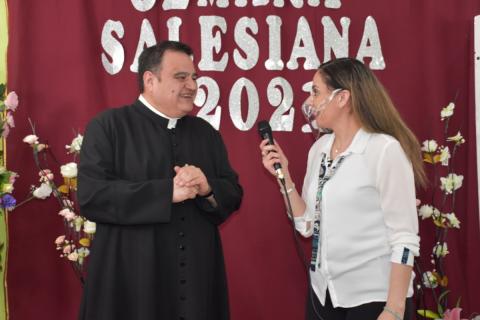 Sorteo Semana Salesiana 2021 en Liceo Monseñor Fagnano de Puerto Natales