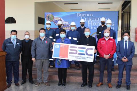 Salesianos La Serena recibe certificación curricular para especialidad de Electricidad