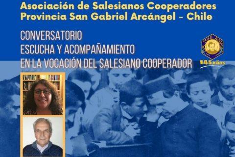 Inscríbete en conversatorio de Salesianos Cooperadores
