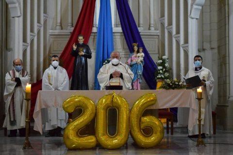 Celebración día de la fidelidad en Talca