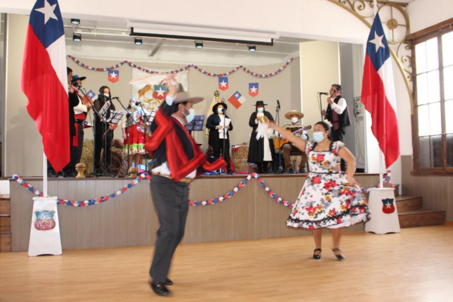 Fiestas Patrias en Salesianos La Serena se celebran con una Oración por Chile