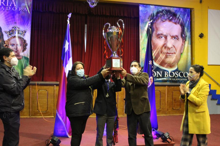 Salesianos Concepción premia a los ganadores Semana Salesiana 2021