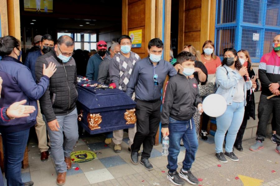 Comunidad de Bosco Antofagasta despide a maestro Jorge Venegas