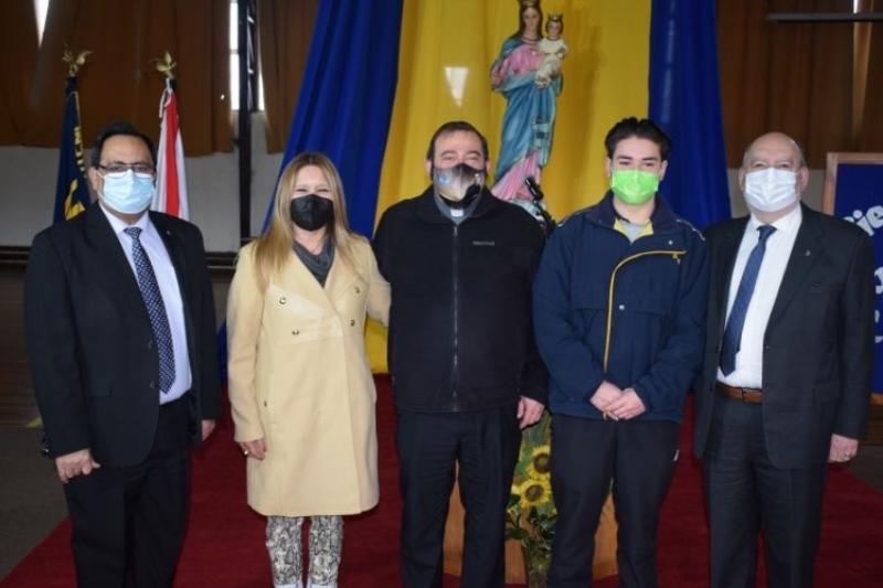 P. Carlo Lira realiza visita Inspectorial a obra salesiana de Valdivia