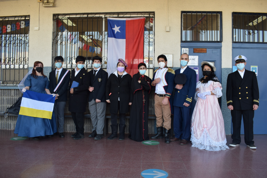 Salesianos Talca celebra Semana de la Chilenidad entre presencialidad y virtualidad