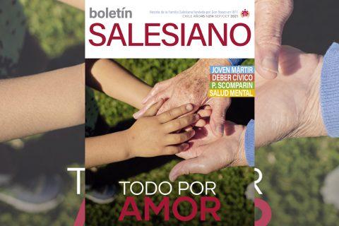 Hacer todo por amor en la nueva edición del Boletín Salesiano