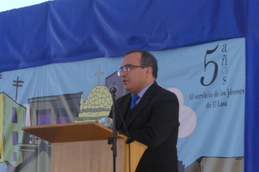 Asume nuevo rector en Don Bosco Calama